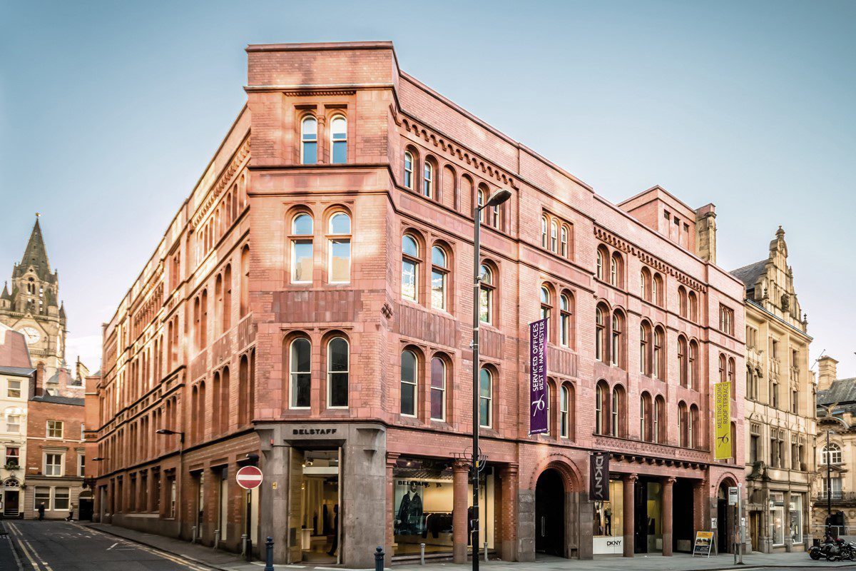 Flexible office space in Manchester at 76 King Street by Orega