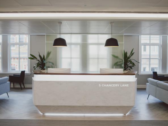 Flexible office space at 5 Chancery Lane by Orega