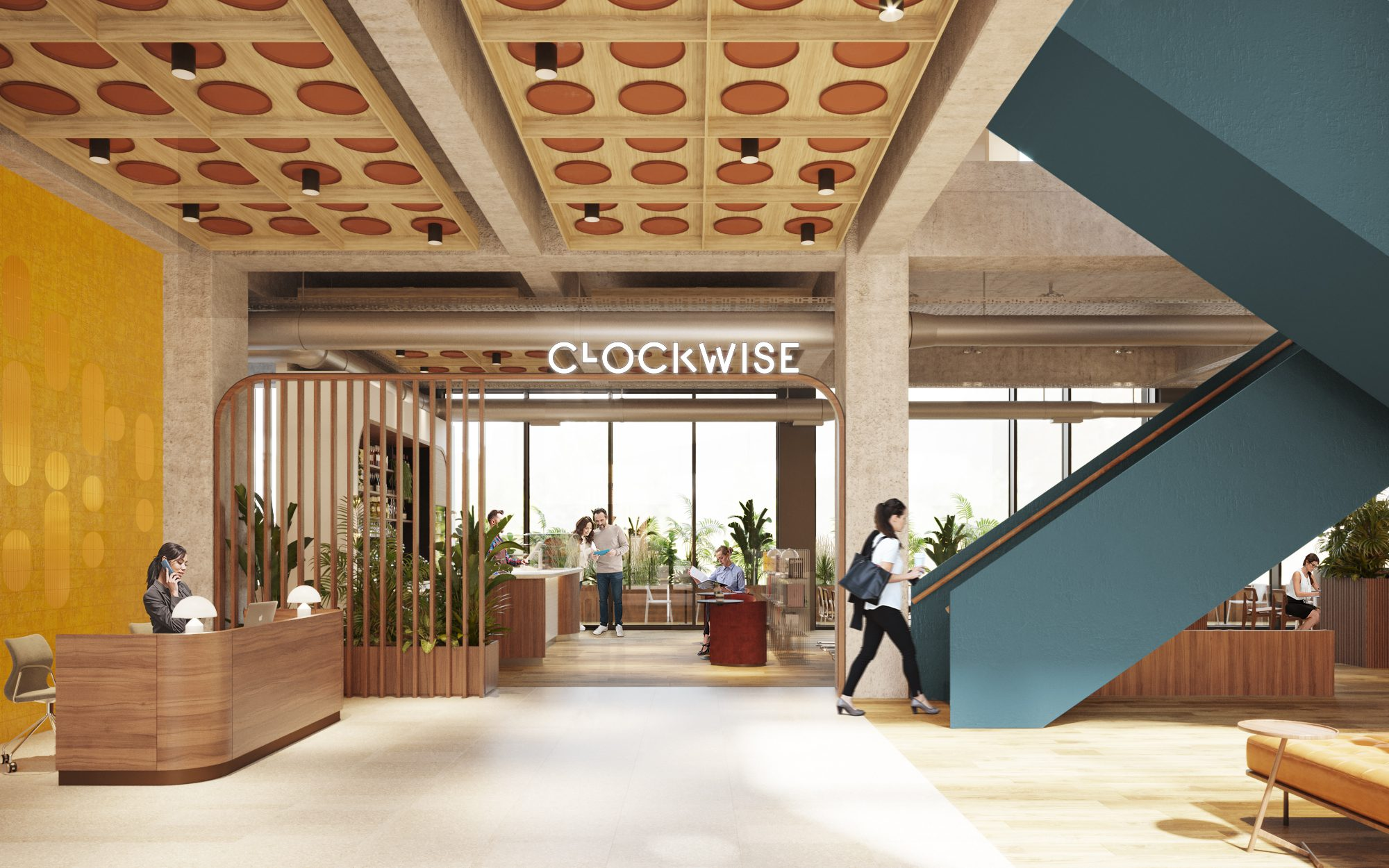 clockwise offices manchester, flexible serviced office space Manchester