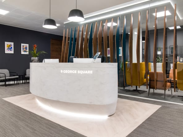 Flexible office space in Glasgow at 9 George Square by Orega