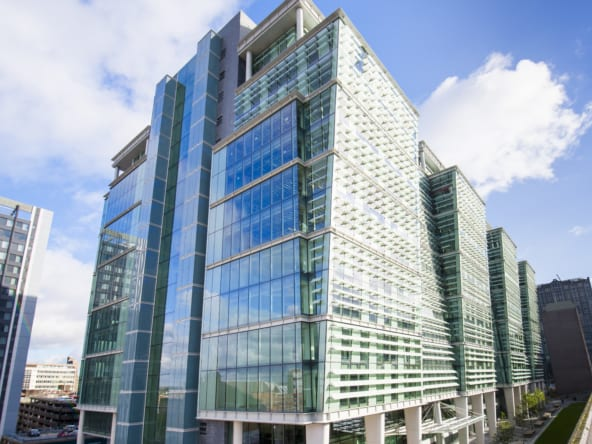 fitted office space at landmark office birmingham