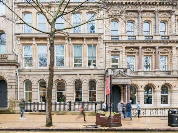 flexible office space in birmingham at 55 colmore row by WeWork