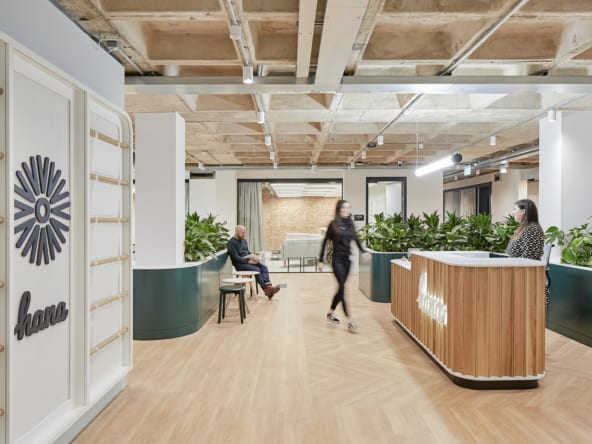 Flexible office space in Manchester at Windmill Green by Hana