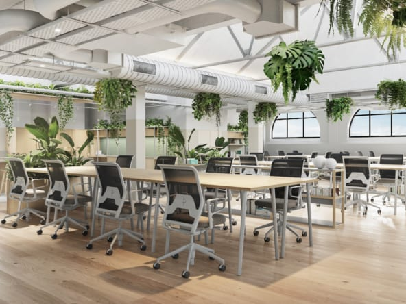 Fully fitted office space in London at Fora Wells Mews, Fitzrovia