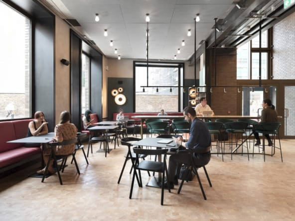 Flexible workspace at Brickfields Hoxton by Workspace Group