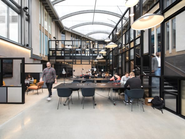 Flexible office space in Kennington at Edinburgh House by Workspace Group