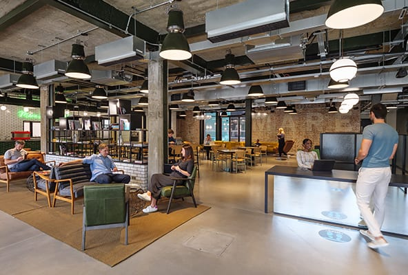 flexible office space in Hackney at Mare Street Studios by Workspace Group