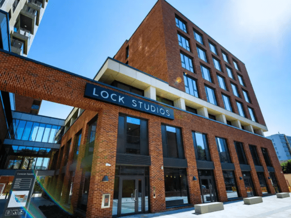 Flexible office space in Bromley-by-Bow at Lock Studios by Workspace Group