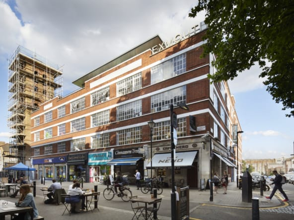 Office space at Exmouth House in Clerkenwell, London