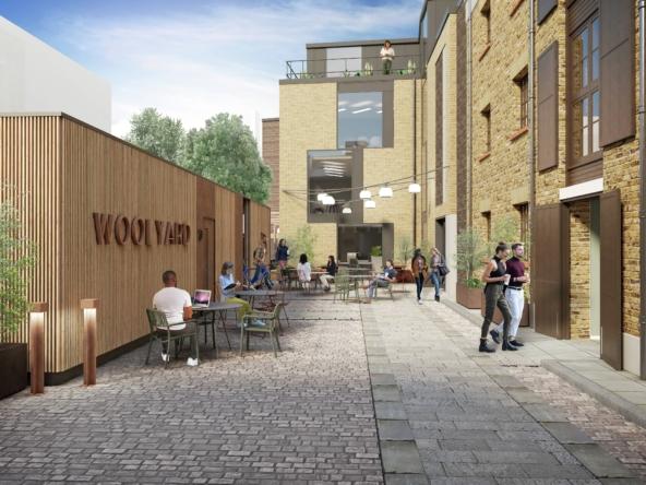 Woolyard office space at Bermondsey Street in London Bridge