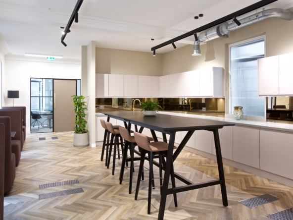 Mayfair office space at 10 Cork Street by Great Portland Estates