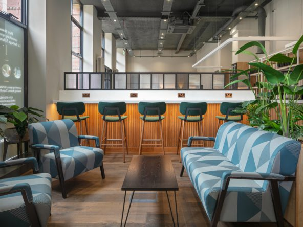 Coworking space at Spacemade Park House Leeds