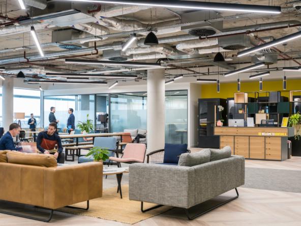 flexible office space at VentureX Chiswick Park